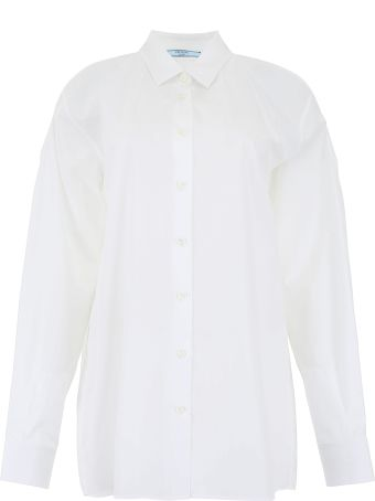 Prada Shirt With Cut-outs