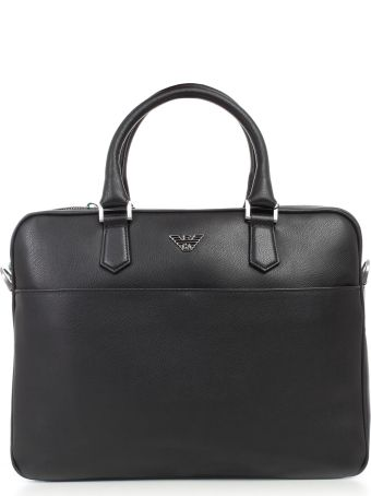 Emporio Armani Classic Briefcase