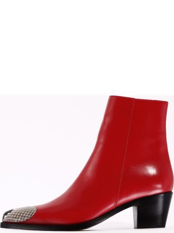BOYY Ankle Boot Heart Leather