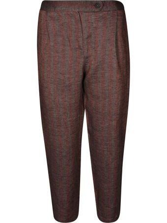 Massimo Alba Striped Trousers