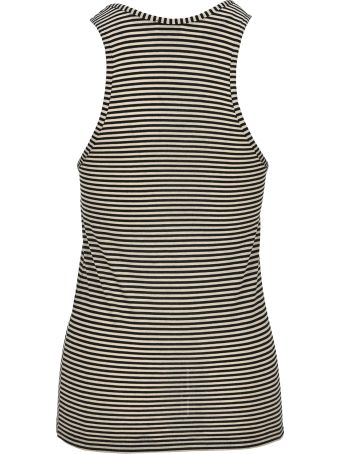 Saint Laurent Striped Tank Top