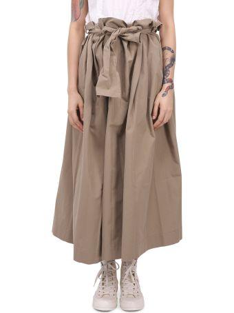 Daniela Gregis Beige Malva Skirt