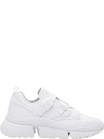Chloé Rony Leather Sneakers