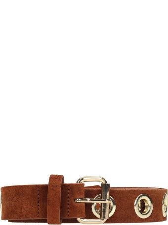 B-Low the Belt Baby Heidi Brown Leather Belt