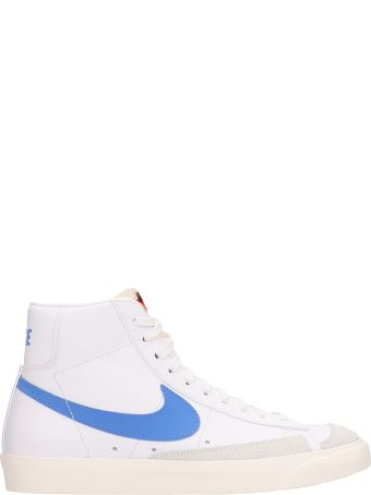 Nike Mid 77 Vintage White Leather Sneakers