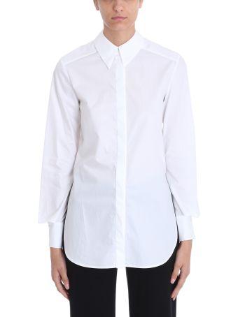 Mauro Grifoni White Cotton Shirt