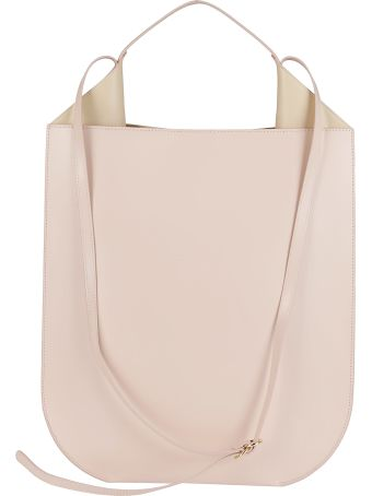 Ree Projects Nude Leather Bag