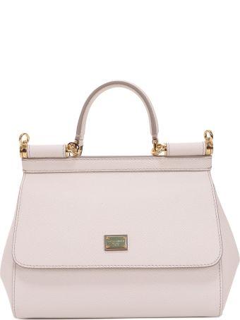 Dolce & Gabbana White Sicily Bag