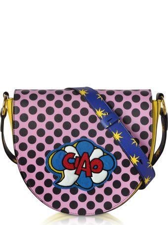 Alessandro Enriquez Hebe Pop Ciao Leather Shoulder Bag