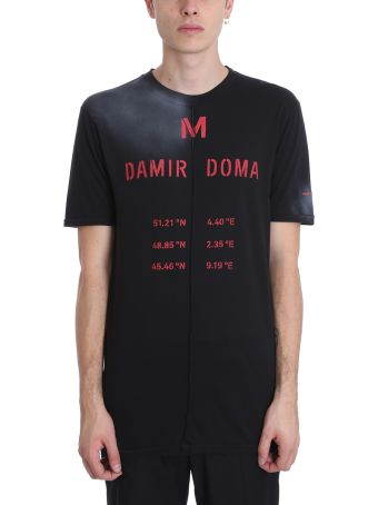 Damir Doma Tegan Black Cotton T-shirt