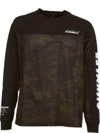 Ben Taverniti Unravel Project Unravel Camo Panel Sweatshirt