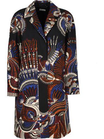 Dries Van Noten Patterned Shirt Dress
