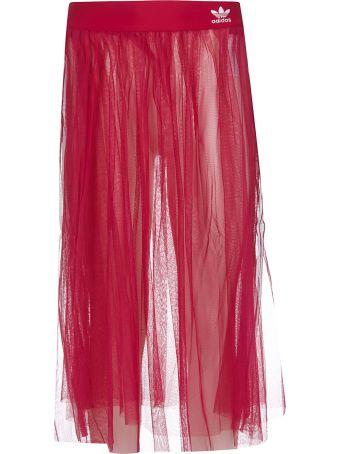 Adidas Embroidered Logo Skirt