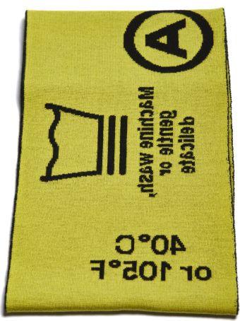 Rokh Symbols Knitted Scarf