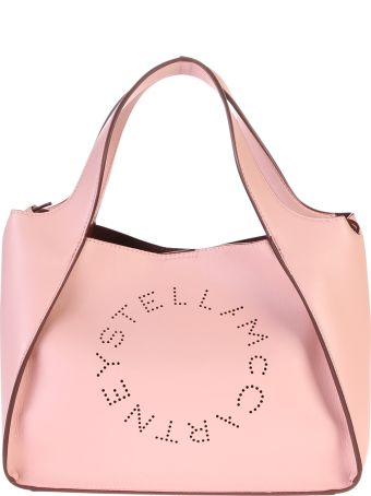 Stella McCartney Perforated Faux Leather Bag