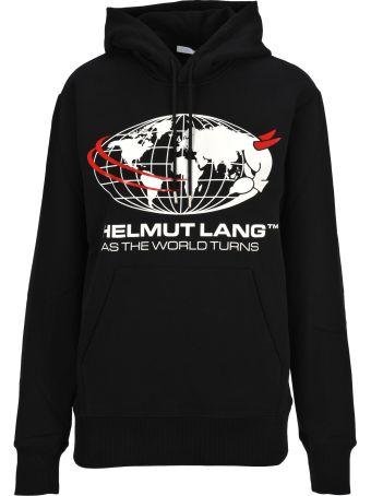Helmut Lang Hooded Fleece Print