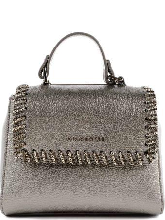 Orciani Spa Mini Sveva Chained Shoulder Bag