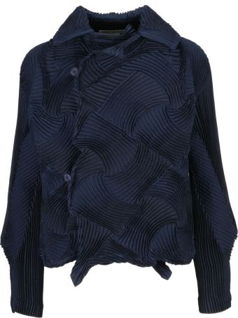 Issey Miyake Ribbed Knit Top