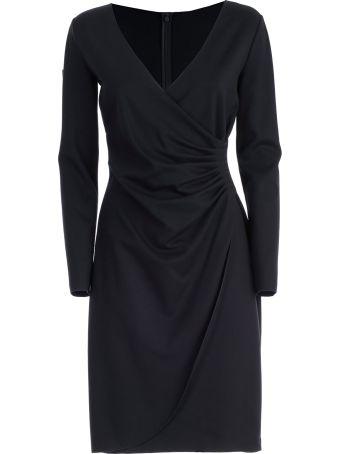 Emporio Armani V-neck Vintage Dress