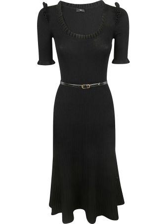 Elisabetta Franchi Celyn B. Ruffled Detail Dress