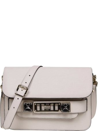 Proenza Schouler Proenza Ps11 Mini Shoulder Bag In Ivory Color Leather