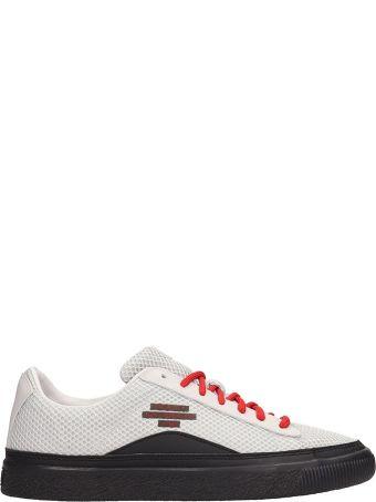Puma X Han Kjobenhavn Grey Fabric Han Clyde Sneakers