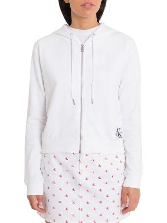 Calvin Klein Jeans Hoodie With Zip