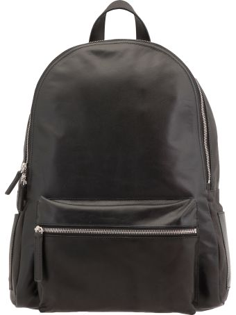 Orciani Leather Backpack