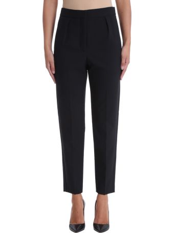 Theory Black City Pants