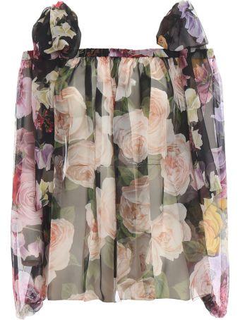 Dolce & Gabbana Dolce Gabbana Floral Blouse