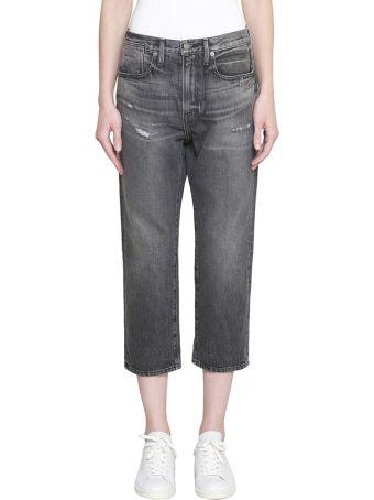 Frame Le Stevie Crop Cotton Denim Jeans