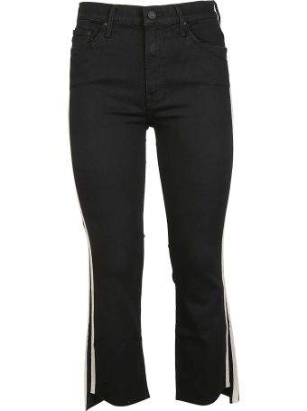 Mother Cropped Racer Jeans