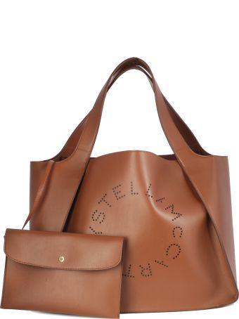 Stella McCartney Tote Bag Logo Small Poutch Inside Short Handle