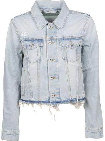 Off-White Frayed Jacket