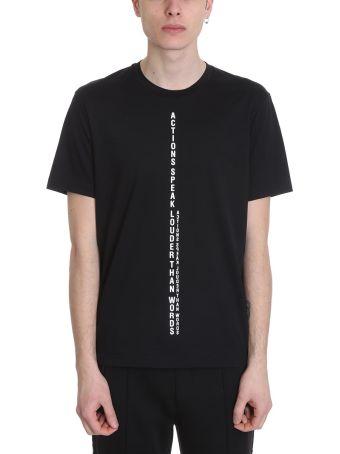 BLACKBARRETT by Neil Barrett Baldo Cotton T-shirt