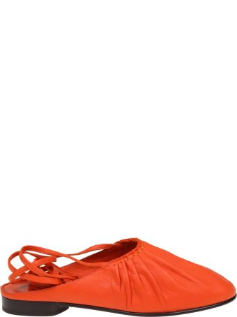 3.1 Phillip Lim Phillip Lim Nadia Lace Up In Leather Color Orange