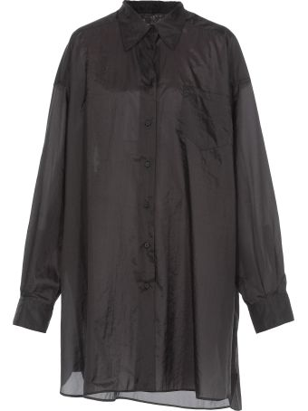 Maison Margiela Oversize Satin Shirt