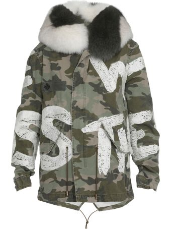 Mr & Mrs Italy Parka With Fur