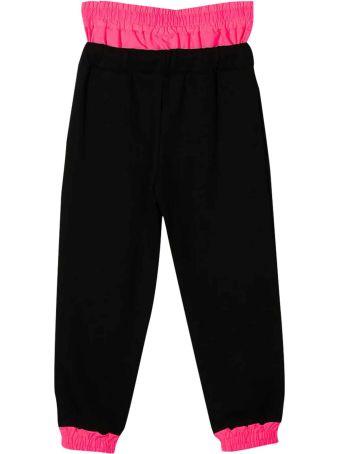 Diadora Black Jogging Pants Diadora Kids Teen