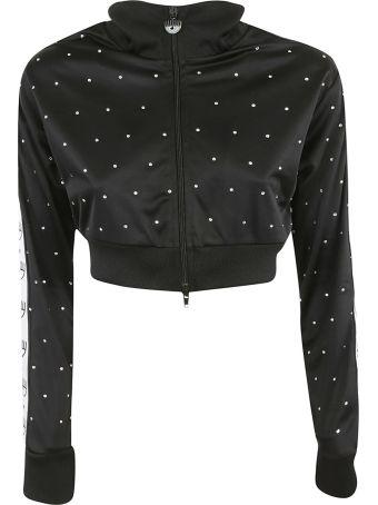 Chiara Ferragni Logomania Cropped Jacket