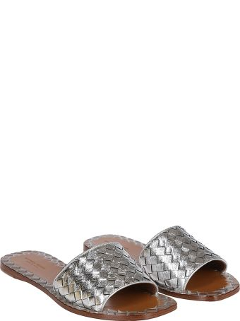 Bottega Veneta Braided Flat Sandals