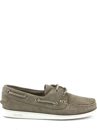 Church's Marske Suede Boat Shoe Stone