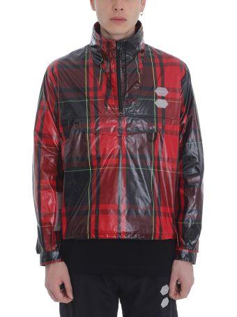 Off-White Anourak Red Nylon Jacket