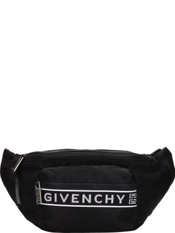 Givenchy Black Nylon Bum Bag