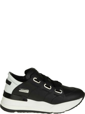 """Ruco Line Rucoline Sneakers """"r-evolve 4038 Nature"""" In Black Leather"""