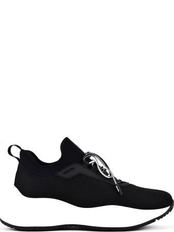 Prada Linea Rossa Prada Sneakers With Mesh Panels