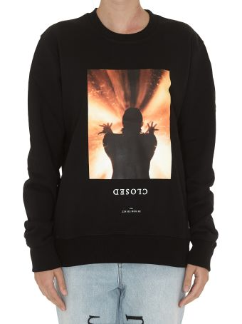 ih nom uh nit Closed Sweatshirt