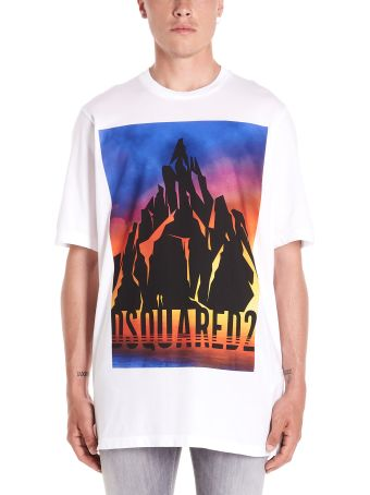Dsquared2 'mountain' T-shirt