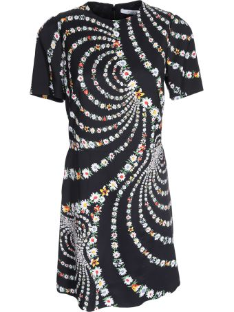 Givenchy Floral Swirls Print Dress