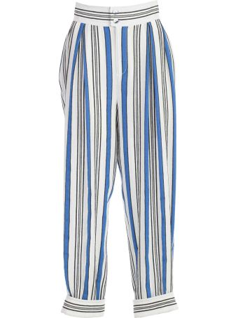 Philosophy di Lorenzo Serafini Pants W/pences And Striped Bottom